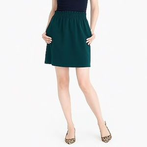 J. Crew Mercantile Sidewalk Skirt 22 Hunter Green